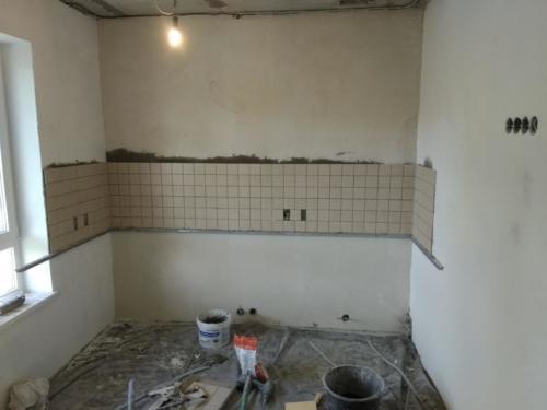 Разводка под кухонную мебель